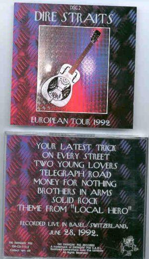 Dire Straits - European Tour 1992 Part Two  ( Swingin Pig )