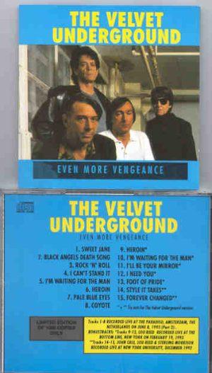 Lou Reed / Velvet Underground - Back To Vengeance II  ( Even More Vengeance )