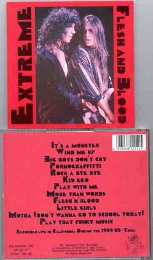 Extreme - Flesh And Blood ( Swingin' Pig ) ( Live In California , During the 1989 US Tour )