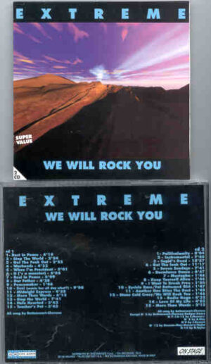 Extreme - We Will Rock You  ( On Stage ) ( 2 CD!!!!! SET ) ( Live On Tour 1990 )