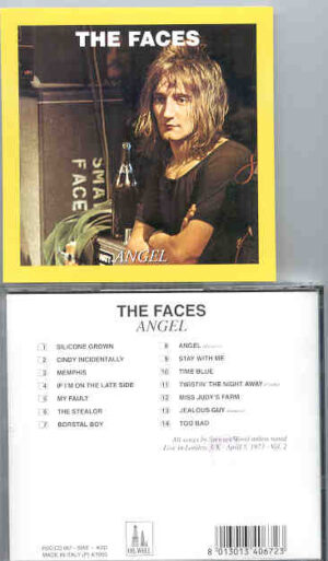 The Face / Rod Stewart - ANGEL ( Oil Well ) ( London , April 5th , 1973 )
