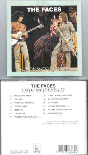 The Face / Rod Stewart - Cindy Incidentally ( Oil Well )