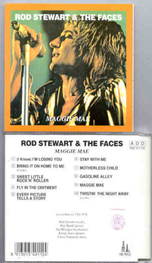 The Face / Rod Stewart - Maggie Mae ( Oil Well ) ( USA , 1974 )