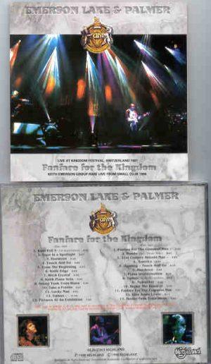 Emerson , Lake & Palmer - Fanfare For The Kingdom  ( Highland ) ( 2 CD!!!!! set )( Switzerland , July 25th , 1997 )
