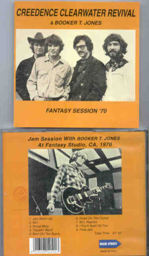 Creedence Clearwater Revival / John Fogerty - Fantasy Session 1970 ( With Booker T. Jones )