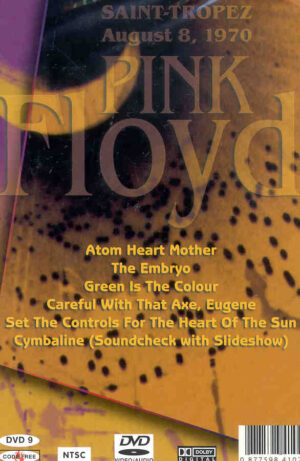 DVD Pink Floyd - Festival Of Musique Saint Tropez