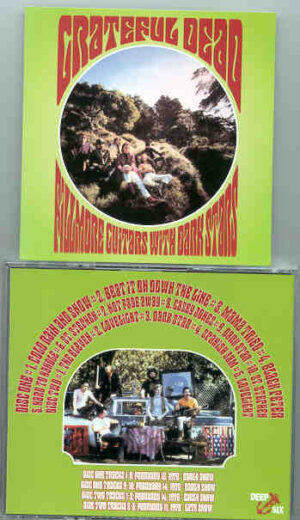 Grateful Dead - Fillmore Guitars With Dark Stars ( 2 CD!!!!! SET ) ( Fillmore 1970 , 2 shows )