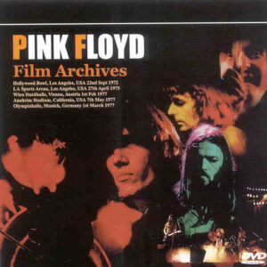 DVD Pink Floyd - Film Archives