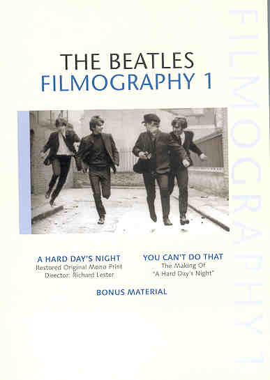 DVD The Beatles - Filmography Vol 1 ( 2 DVD SET )