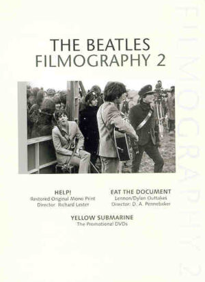 DVD The Beatles - Filmography Vol 2 ( 2 DVD SET )