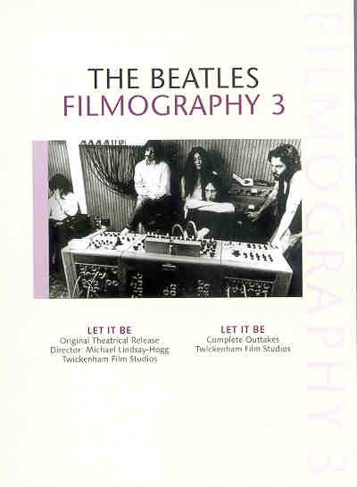 DVD The Beatles - Filmography Vol 3 ( 2 DVD SET )