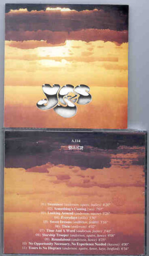 Yes - First Steps ( Live in London 1970 - 1971 ) ( Aulica )