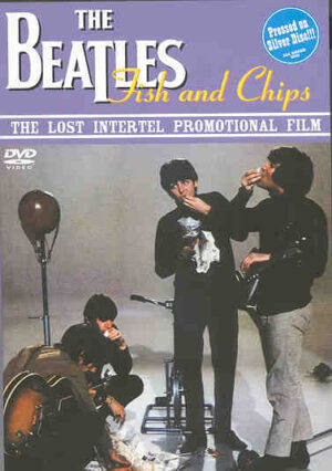 DVD The Beatles - Fish And Chips ( Lost Intertel )