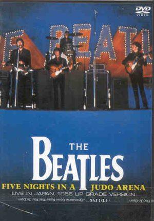 DVD The Beatles - Five Nights In A Judo Arena ( Hercules )