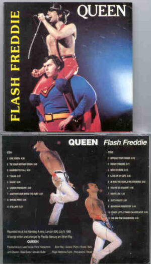 Queen - Flash Freddie ( 2 CD!!!!! set ) ( Wembley Arena , London , July 5th , 1986 )