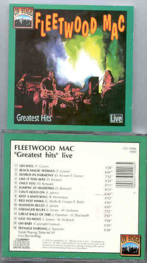 Lindsey Buckingham Fleetwood Mac - Greatest Hits Live ! ( On Stage )