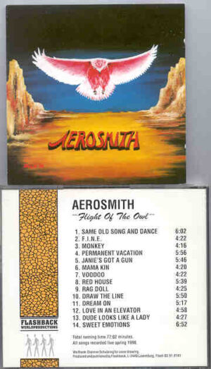 Aerosmith - Flight Of The Owl ( Flashback ) ( Live Soundboard , Spring 1990 )