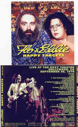 Flo & Eddie ( Turtles ) - Happy Targets ( 2 CD!!!!! set ) ( Roxy Theater , CA , September 26th , 1976 )