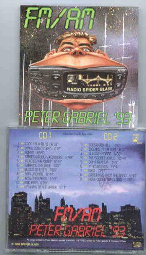P. Gabriel  /  GENESIS  /  P. Collins - FM - AM  93    ( Peter Gabriel )  ( 2 CD!!!!! SET )