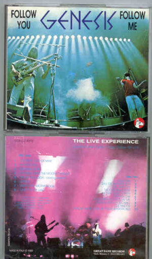 P. Gabriel  /  GENESIS  /  P. Collins - Follow You , Follow Me  ( Great Dane )  ( 2 CD!!!!! SET )