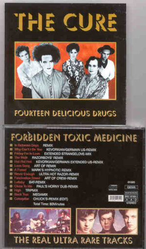 The Cure - Forbidden Toxic Medicine ( Fourteen Delicious Drugs )