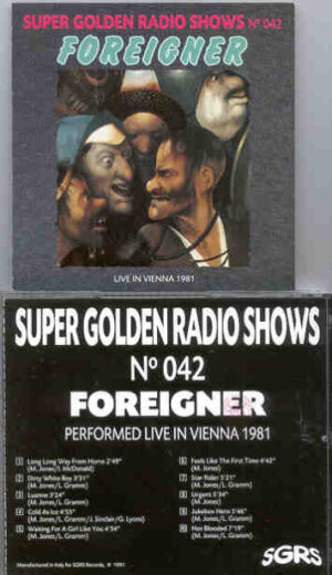 Foreigner - In Concert 1981 ( Live in Vienna )