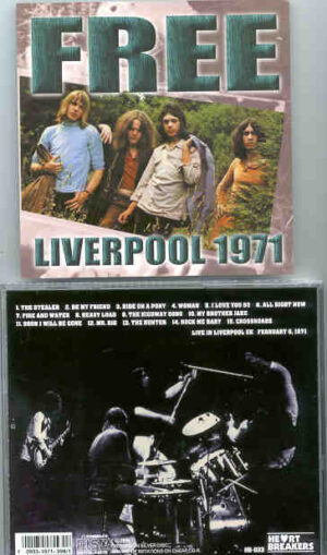 Free - Liverpool 1971 ( Live In Liverpool , UK , February 9th , 1971 )