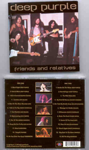Deep Purple - Friends and Relatives ( 2 CD!!!!! SET ) ( With Glen Hughes - Coverdale - Rainbow & more )