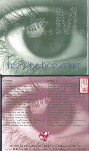 R.E.M. - From The Borderline ( 2 CD!!!!! set ) ( Great Dane Recs. )