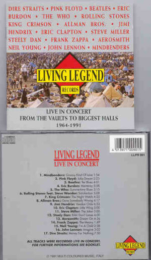 Various Artists - From The Vaults To Biggest Halls ( Living Legend )