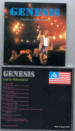 P. Gabriel / GENESIS / P. Collins - Fugitives From Justice ( Live in Philadelphia 1984 )