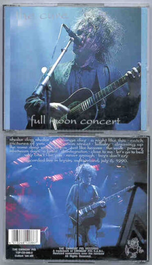 The Cure - Full Moon Concert ( Swingin' Pig ) ( 2 CD!!!!! SET )