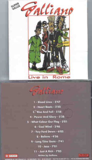 Galliano - Live in Rome  ( On Stage )