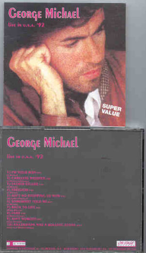 George Michael - Live in USA 1992 ( On Stage Recs )