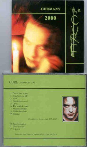 The Cure - Germany 2000  ( Oberhausen Arena & Stuttgart Hans Martin Schleyer Halle , April 2000 )