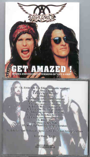 "Aerosmith - Get Amazed ( B-Sides and Different Versions From The "" Get A Grip "" Album )"