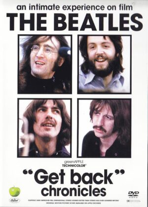DVD The Beatles - Get Back Chronicles ( 3  DVD SET )