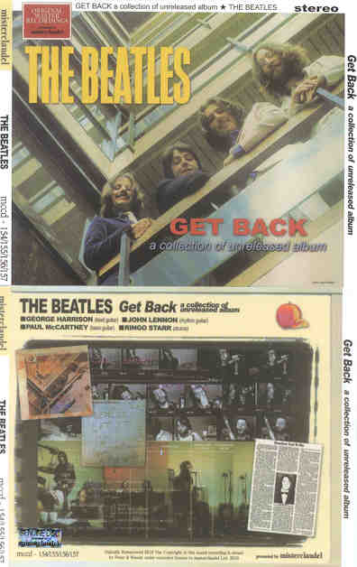 The Beatles - Get Back a Collection of Unreleased Albums ( 4 CD SET ) (  Misterclaudel )