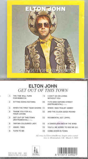 Elton John - Get Out Of This Show ( Oil Well ) ( Live in Birmingham , March 3rd , 1969 )