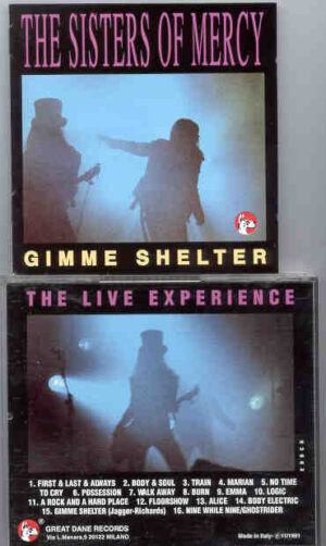 The Sisters Of Mercy - Gimme Shelter ( Great Dane ) ( Live During the 1985 Tour )