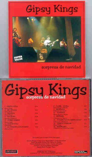 Gipsy Kings - Sorpresa De Navidad ( On Stage Recs ) ( Live Unplugged , October 1994 )