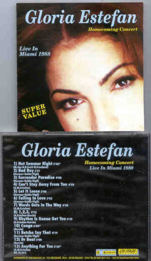 Gloria Stefan - Homecoming Concert ( On Stage ) ( Live In Miami , Florida , USA , 1998 )