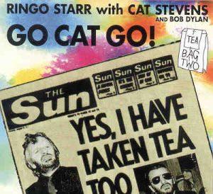 Ringo Starr - Go Cat Go ! ( With Cat Stevens ) ( 1987 Memphis Sessions & 1976 Copenhagen Sessions )