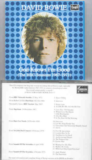 David Bowie - God Knows I'm Good  ( The BBC Sessions 1967 - 1971 )