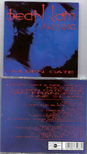 Pearl Jam - Golden Gate ( With Neil Young ) ( 2 CD!!!!! set ) ( San Francisco , June 24th , 1995 )
