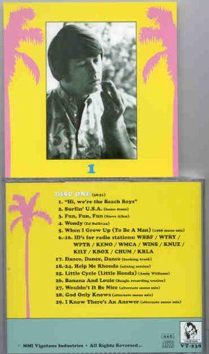 The Beach Boys - Goodbye Surfing , Hello God - Disc 1     ( Vigotone )