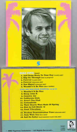 The Beach Boys - Goodbye Surfing , Hello God - Disc 5     ( Vigotone )