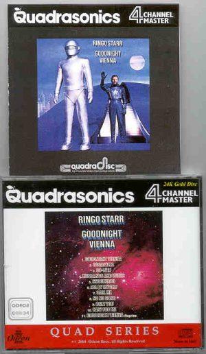 Ringo Starr - Goodnight Vienna Quadraphonic  ( Odeon Quadraphonics )