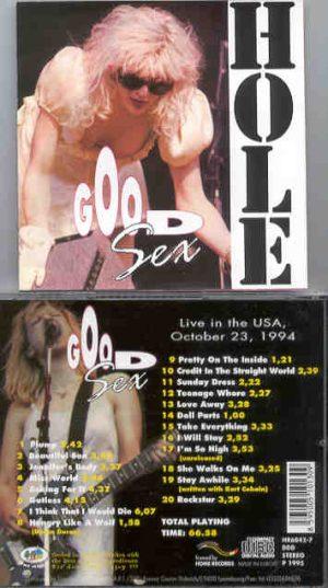 Nirvana - HOLE  Good Sex ( USA , October 23rd , 1994 )