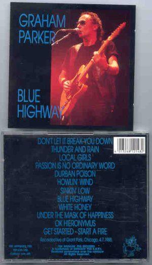 Graham Parker - Blue Highway  ( Swingin' Pig )